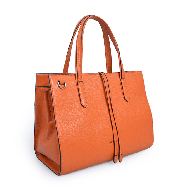Leather Colorful HandBag tote bag for women