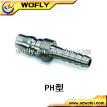 exhaust flexible tube quick connect pipe fittings