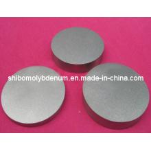 Cercles ronds polis de molybdène de grande pureté