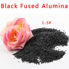 Alumina negra fundida / Corindón negro / Óxido de aluminio negro (XG-016)