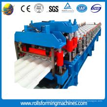 Máquina para fabricar rollos de teja esmaltada