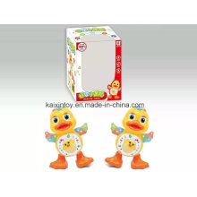 Battery Operated Dancing Duck with Light and Music for Kids