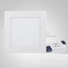 Quadratische LED-Einbauleuchte von 3W bis 18W