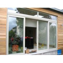 Luxe haut de gamme Meilleur prix Garantie Double vitrage en aluminium portes coulissantes