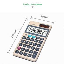 12 digits check pocket calculators