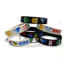 2021 Customized Logo Silicone Sports Wristband Bracelet