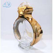 Ad-P263 Bouteille de parfum vaporisée en verre incurvé transparent