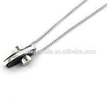 El último diseño de la joyería del collar de la dentición de las ventas al por mayor rebordea el collar