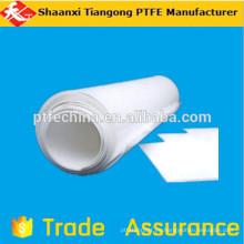 Materia prima Placa delgada de PTFE para la industria química y química