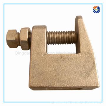 Braçadeira de feixe de aço inoxidável para construção