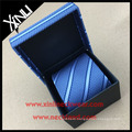 Wholesale Black Custom Logo Hot Stamped Tie Packaging Boxes