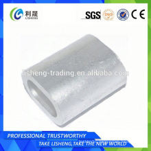 Galvanized Double Eye Oval Wire Rope Sleeve