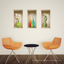 Vinilo extraíble conjunto decoración del hogar 3d autoadhesivo etiqueta de la pared