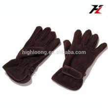 Перчатки из флиса с перламутровыми перчатками для спорта на открытом воздухе