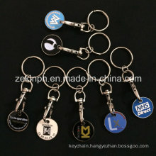 Custom Made Trolley Coin Keyring