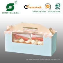 High Quanlity Kleine Papierschachtel für Mini Cupcake (FP900008)