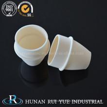 Calciumoxid stabilisierte Zirkonoxid (ZrO2 + Cao) 99 % Keramiktiegel