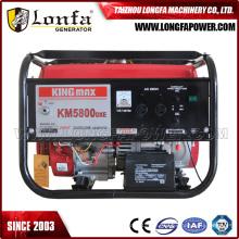 Gasolina do gerador de Kingmax do começo elétrico de Km5800dxe 2500W