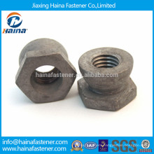 Carbon steel Hot Dip Galvanised security shear nut