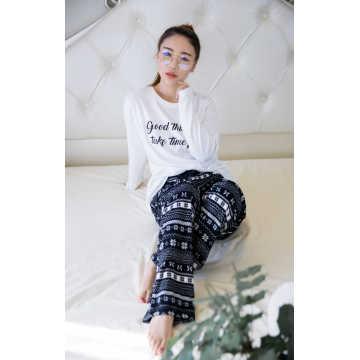 Light soft polar fleece pajama set