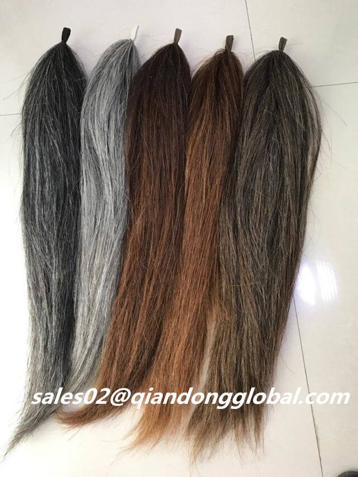 Chestnut Horse Tail Hair