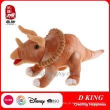 Dinossauro de pelúcia realista com brinquedos recheados de Voicer para menino