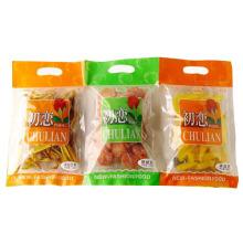 Bolso de OPP / bolso plástico del alimento de bocado / bolso del alimento con la manija