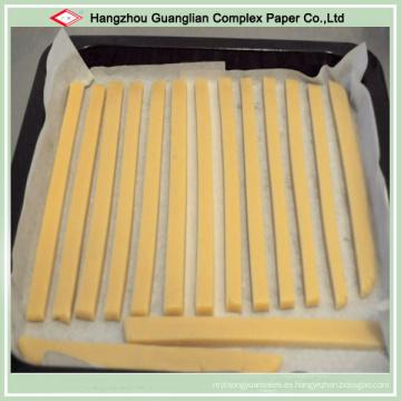Papel de hornear antiadherente de alta temperatura para cocinar galletas