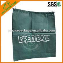 Promocional PP Drawstring Bag saco de sapato respirável