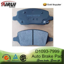 D1093-7999 Rear Brake Pad for BUICK TERRAZA 2005-2007