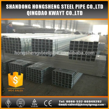ASTM galvanized square pipe