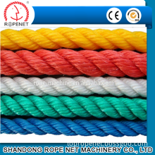 3 strands twisted Polypropylene monofilament rope