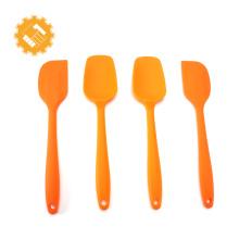 Vente chaude 4pcs Top Qualité Silicone Spatule Baking Tools Set
