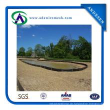 PP-Gewebe-Schlamm-Zaun benutzt für Bau, Garten-Gewebe-Zaun