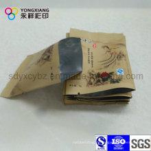 Aluminiumfolie Tee Plastikverpackung Kleine Tasche