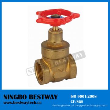 Fornecedor rápido da válvula de porta de alavanca de bronze (BW-G04)