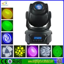 6color 8gobo prisma 15CH Led Spot Moving Head iluminação