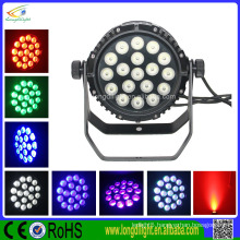 Wholesale Small RGB Outdoor IP66 18*10W 4in1 Professional LED Par 64 Stage Lighting