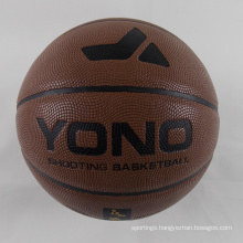 2018 YONO Cheap Pu Custom Basketball Ball In Bulk For Training