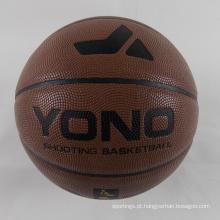 2018 YONO barato Pu bola de basquete personalizado em massa para treinamento