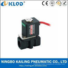 2p Series Low Price Plastic Solenoid Valve 12V