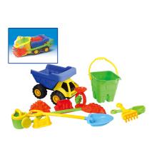 Летние игрушки Пластиковый песочный набор пляжные игрушки (H1404212)