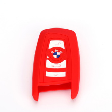 Key holder fob silicone case for bmw