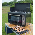 Outdoor Cooking BBQ Camping Gas Cooker Oven with Stove