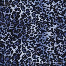 Tecido liso de popeline vestidos estampados de viscose