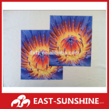 full color printed microfiber sunglasses cleaning cloth,microfiber cloth cutting digital printing