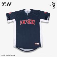 Jerseys de béisbol de calidad superior personalizado de béisbol sublimación jerseys