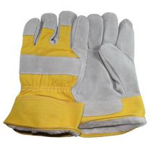"""NMSAFETY 10.5 """"AB grade 190-220g Industrial barato luvas de segurança de soldagem luvas de couro luvas de trabalho de couro para o homem"""