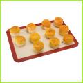 Demi-feuille anti-adhérent réutilisable Food Grade ustensiles de cuisson Silicone