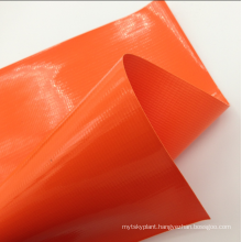 Green Heavy Duty UV resistant PVC Reinforced Polyester fabric Tarpaulin